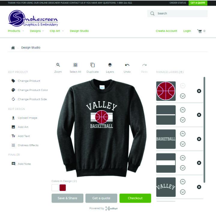 online designer image example